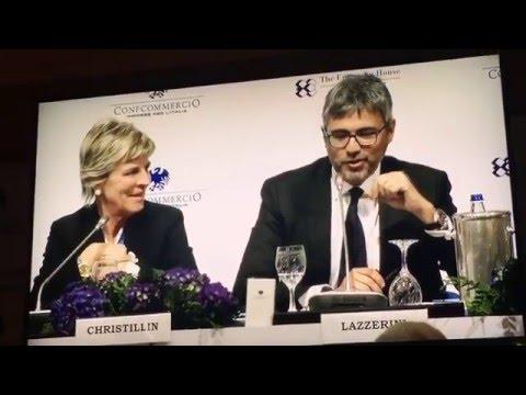 Forum di Confcommercio a Cernobbio – consigliere Enit, Fabio Lazzerini