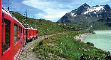 Ferrovia Retica, stagione record