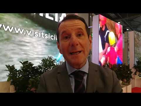 L'assessore al Turismo della Sicilia, Sandro Pappalardo
