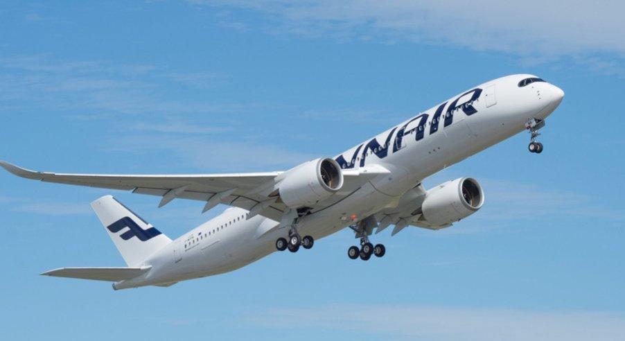 Finnair, riprende la rotta Helsinki-Canton
