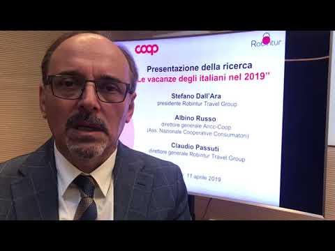 Claudio Passuti, direttore generale Robintur Travel Group