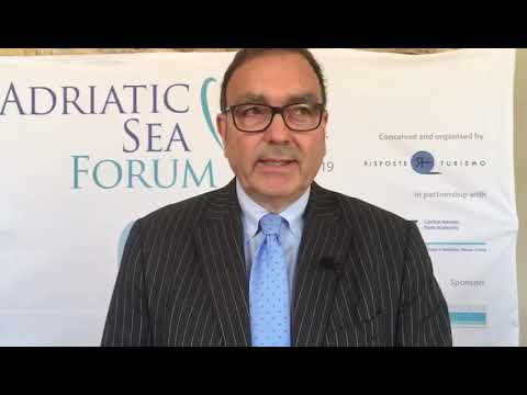 Rodolfo Giampieri, presidente Central Adriatic Ports Authority