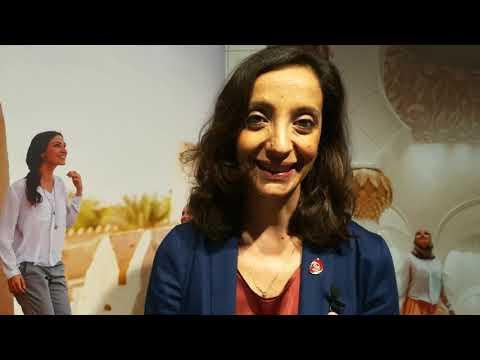 Dora Paradies, country manager Italia Ente Abu Dhabi