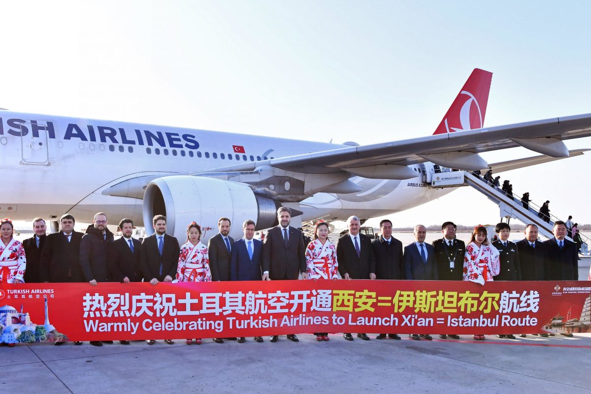 Con Turkish Airlines verso l'esercito di terracotta di Xi'An