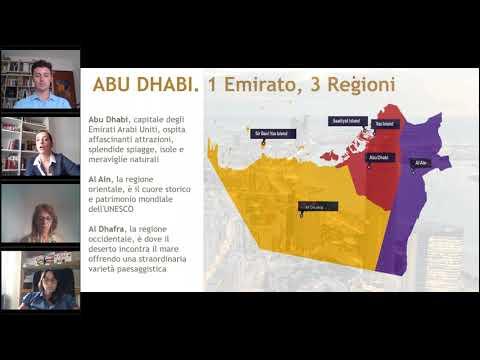 """Il webinar di #eMartediTurismo """"Abu Dhabi, la destinazione MICE perfetta per i tuoi eventi"""""""