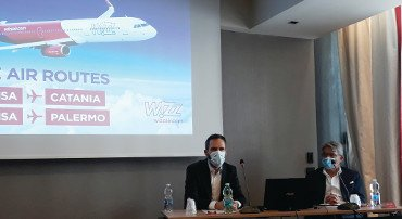 Wizz Air, due nuove rotte sulla Sicilia