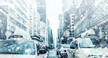 New York: migliaia di voli cancellati per la bufera di neve