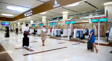 "Emirates, rotta sul ""contactless"""