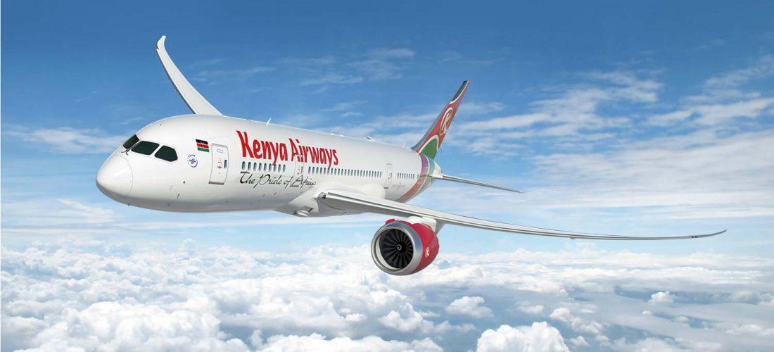 Kenya Airways riprende i voli da Fiumicino
