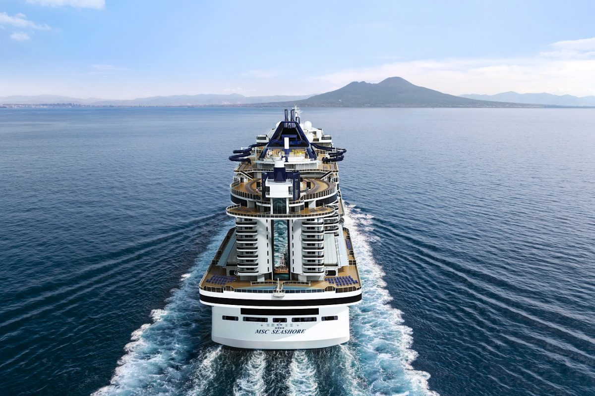Msc Seashore, la nave dei record