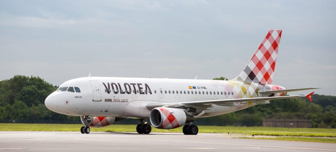 Volotea: cambio volo, senza costi aggiuntivi