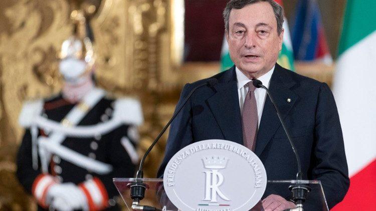 """Draghi, l'esordio al Senato: """"Il turismo va aiutato, ma deve cambiare modello"""""""