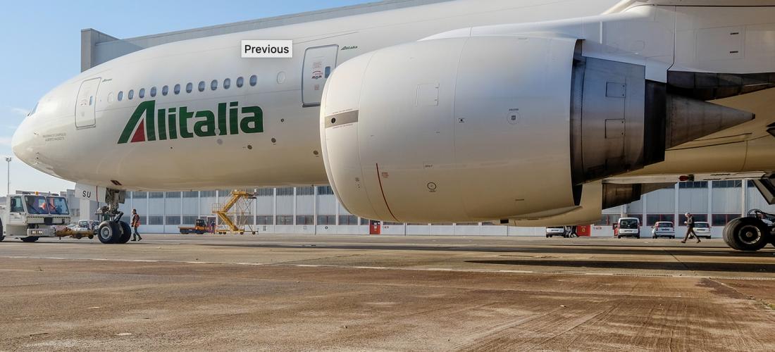 Ue, via libera a metà dei ristori per Alitalia