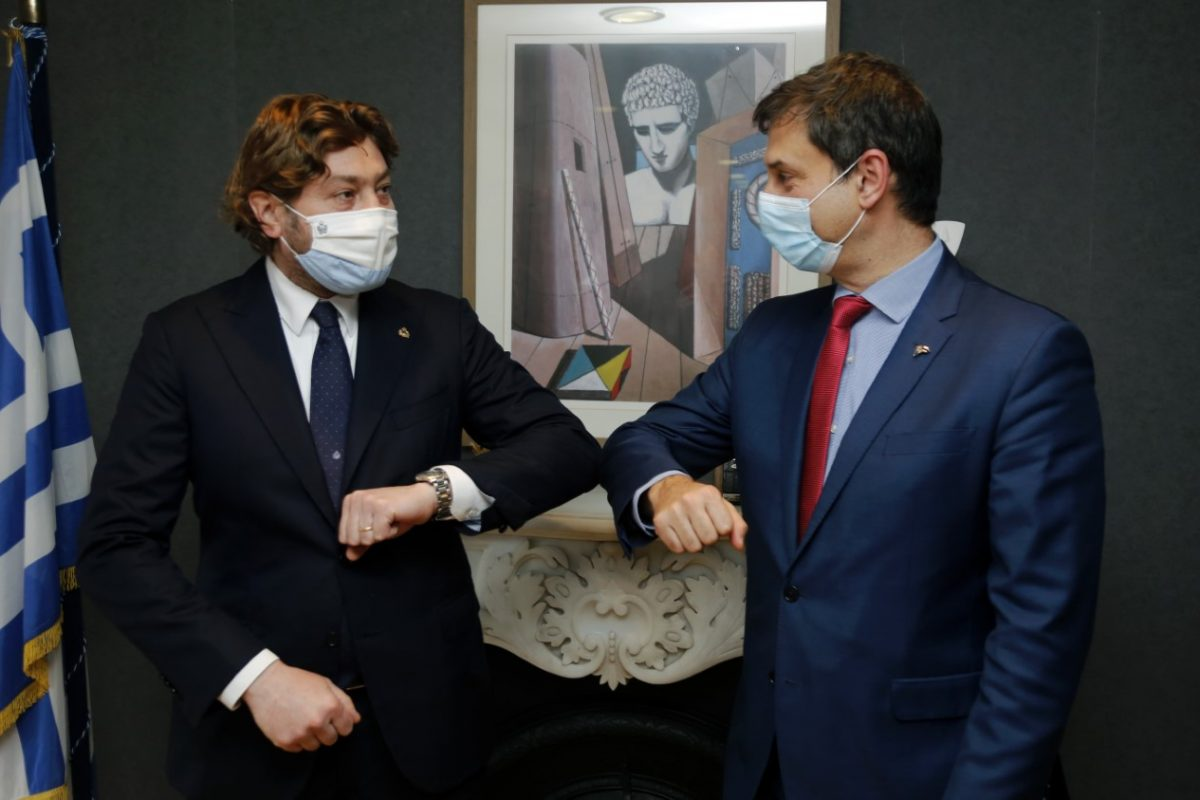 E' partnership tra San Marino e la Grecia