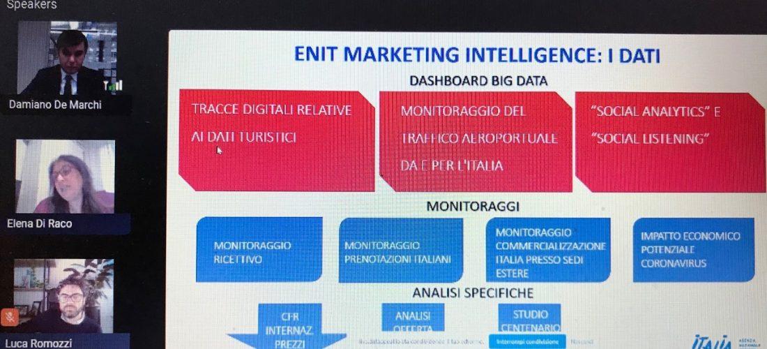Enit e la nuova strategia data driven