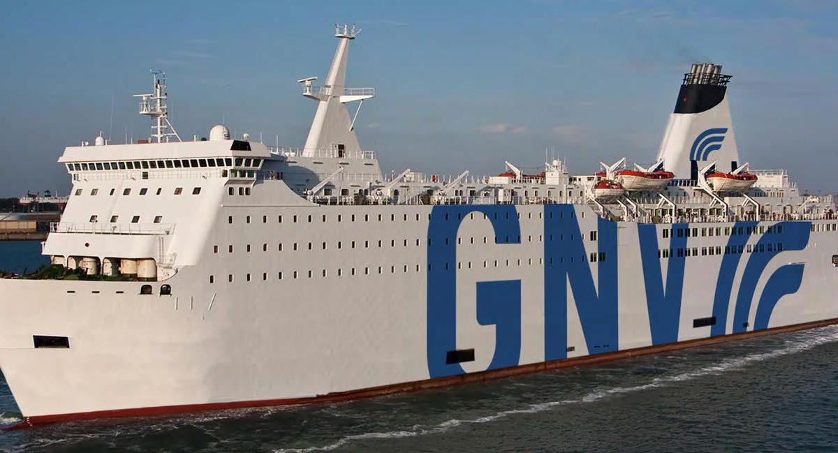 La new entry Gnv Aries opererà le linee con la Sicilia