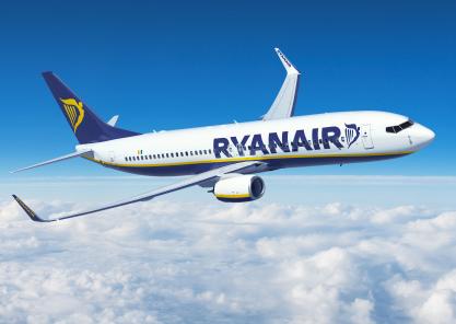 Ryanair, quattro nuove rotte da Torino