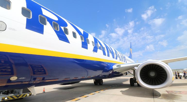 Sei nuove rotte nell'inverno di Ryanair da Bologna