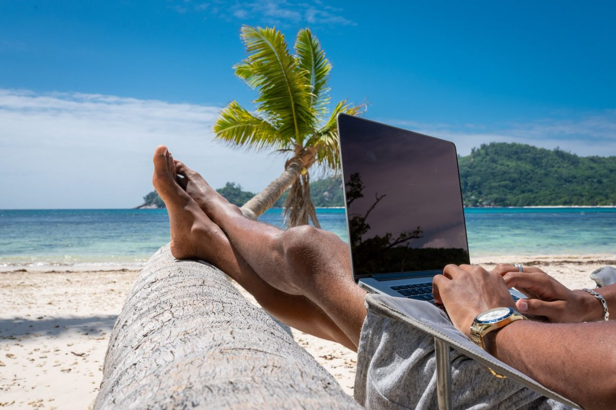 Workcation alle Seychelles