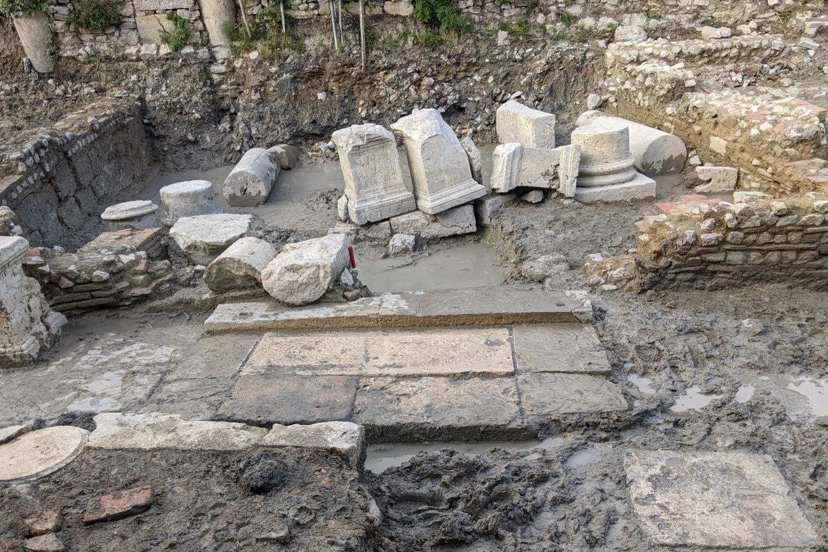 Un santuario romano a San Casciano dei Bagni