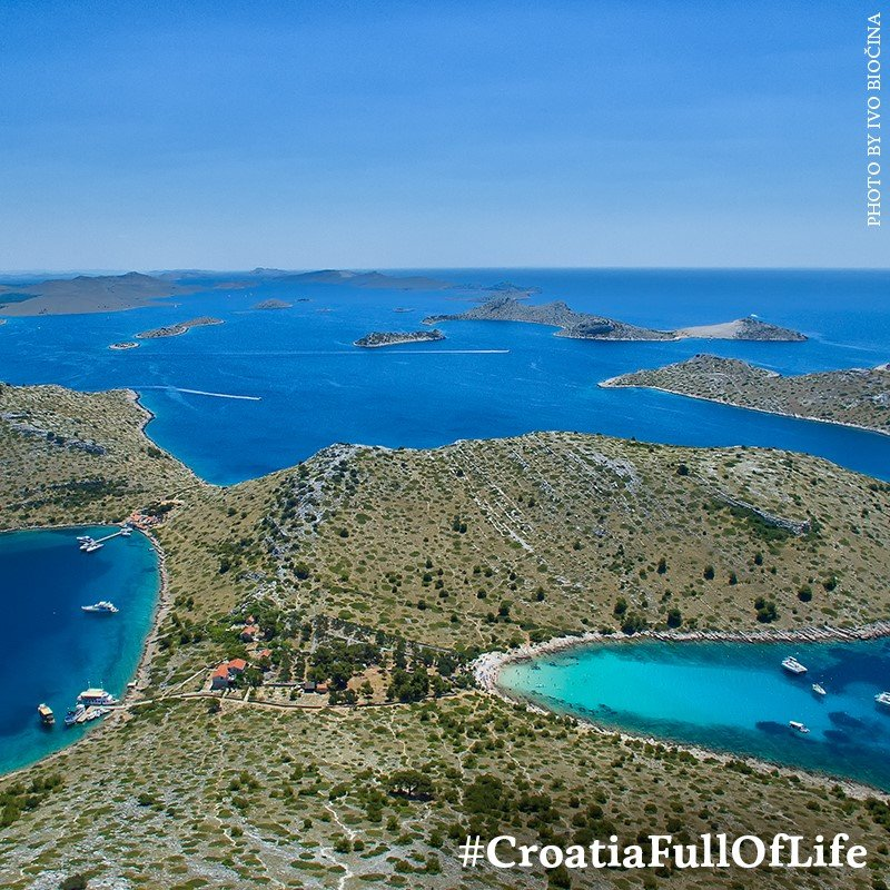 In Croazia isole Covid-free