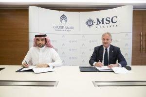Msc e Cruise Saudi lanciano le crociere nel Mar Rosso