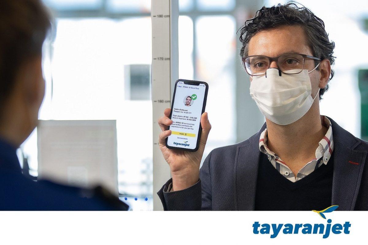 Iata Travel Pass testato sui voli Tayaranjet