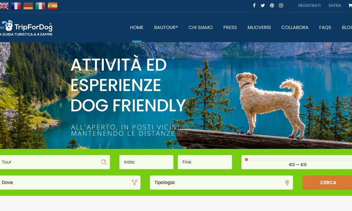 TripForDog.com: l'adv per chi ha il cane