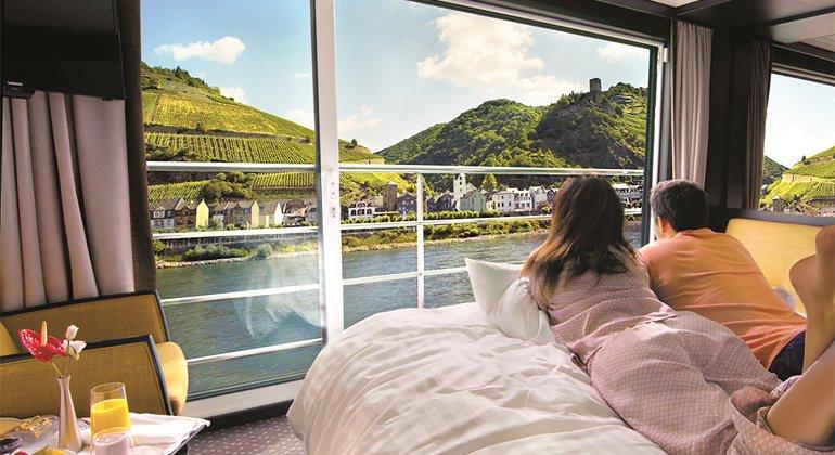 Avalon Waterways, boutique hotel galleggianti di design
