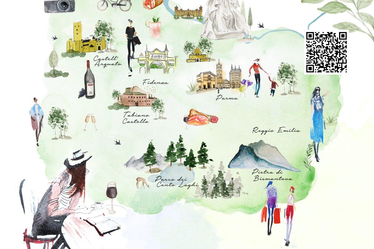 """""""Cara Emilia"""": in adv 10 pacchetti turistici firmati Fidenza Village"""
