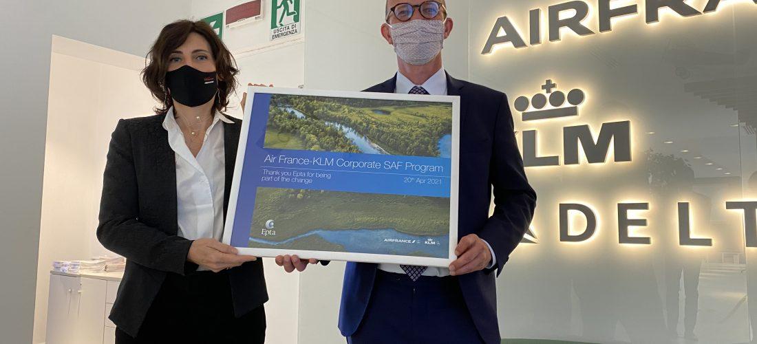 Air France Klm ed Epta: impegno comune per lo sviluppo del biocarburante