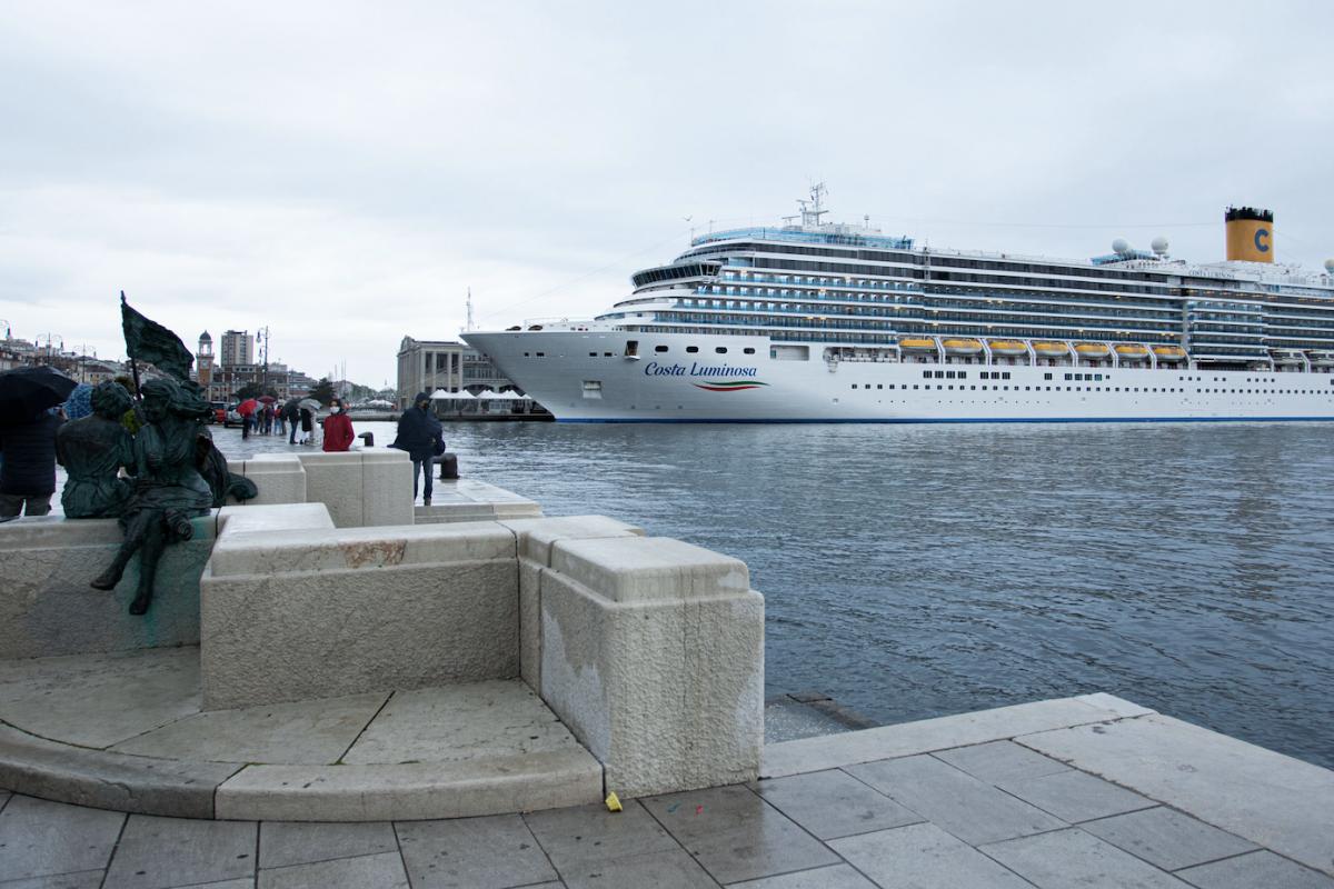 Costa Crociere, l'Adriatico ritorna navigabile