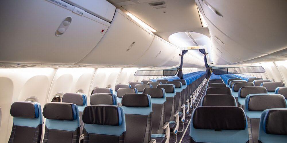 Per Klm restyling cabine per 14 Boeing