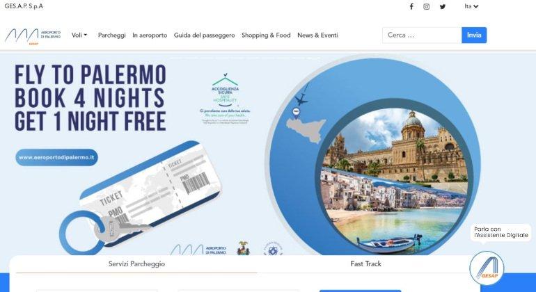 Nasce Fly, il chatbot dell'aeroporto di Palermo