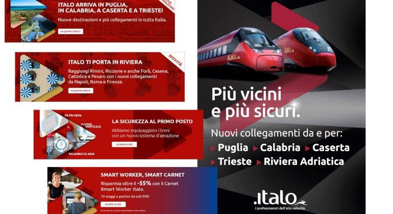 Nuovo format di comunicazione per Italo