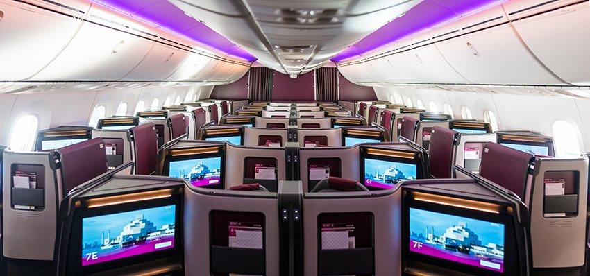 Le suite volanti di Qatar