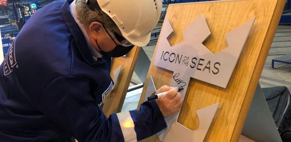 Royal Caribbean, al via la costruzione di Icon of the Seas