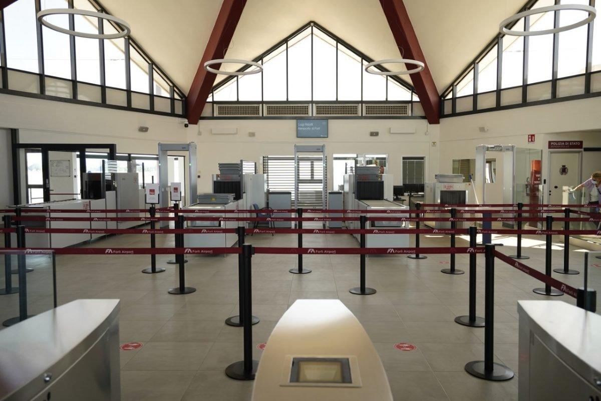 L'aeroporto di Forlì è Covid free