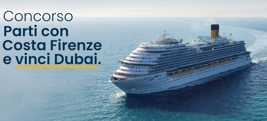 Parte l'operazione 'Parti con Costa Firenze e vinci Dubai'