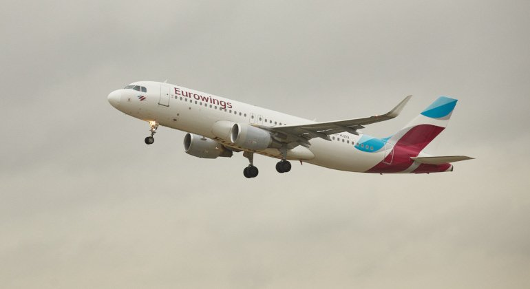 Eurowings vola da Bergamo a Düsseldorf