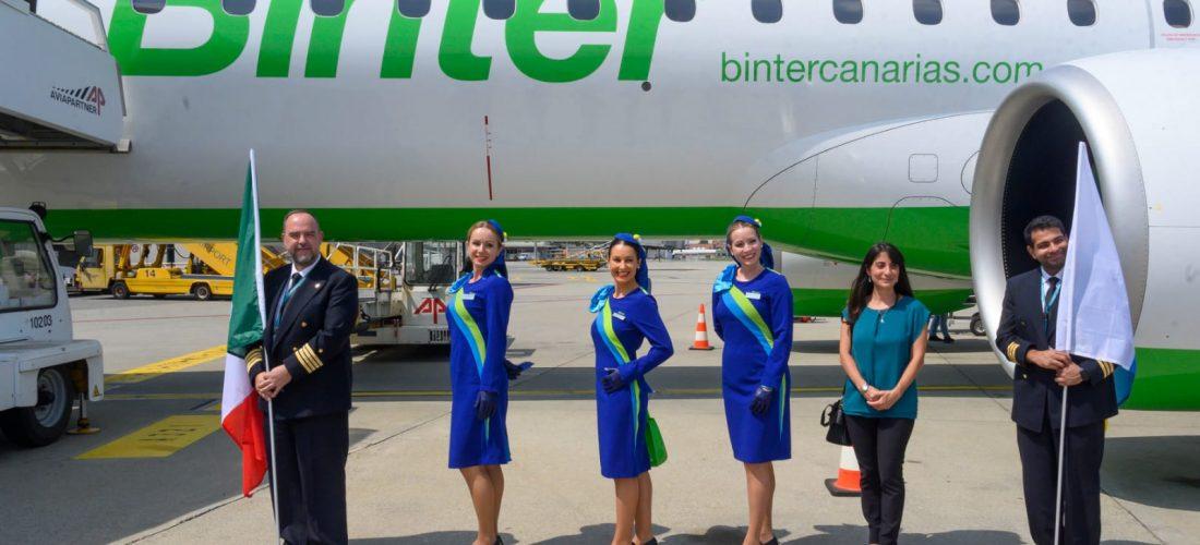 Da Torino verso Gran Canaria: il debutto italiano di Binter
