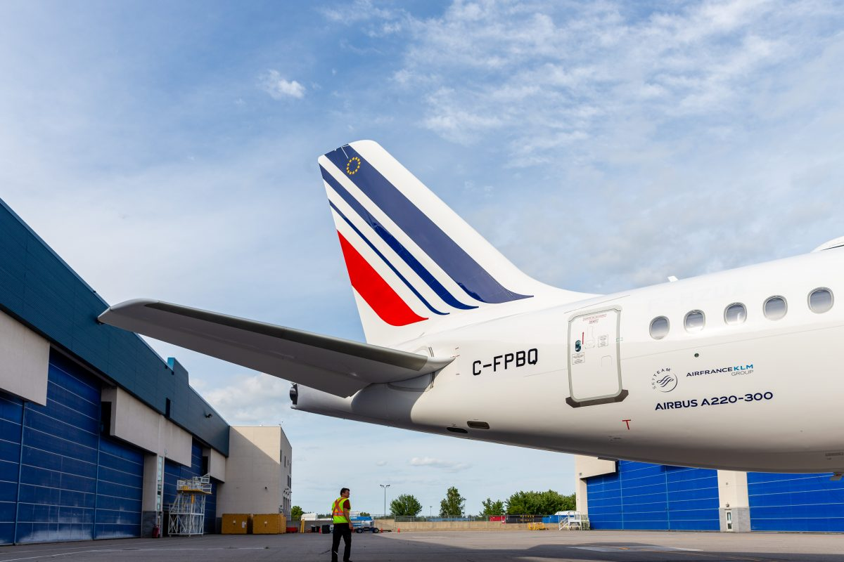 Air France, in arrivo il primo Airbus A220