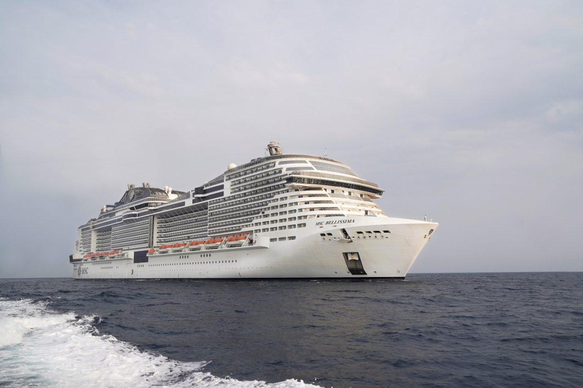 Msc Bellissima riprende la navigazione nel Mar Rosso