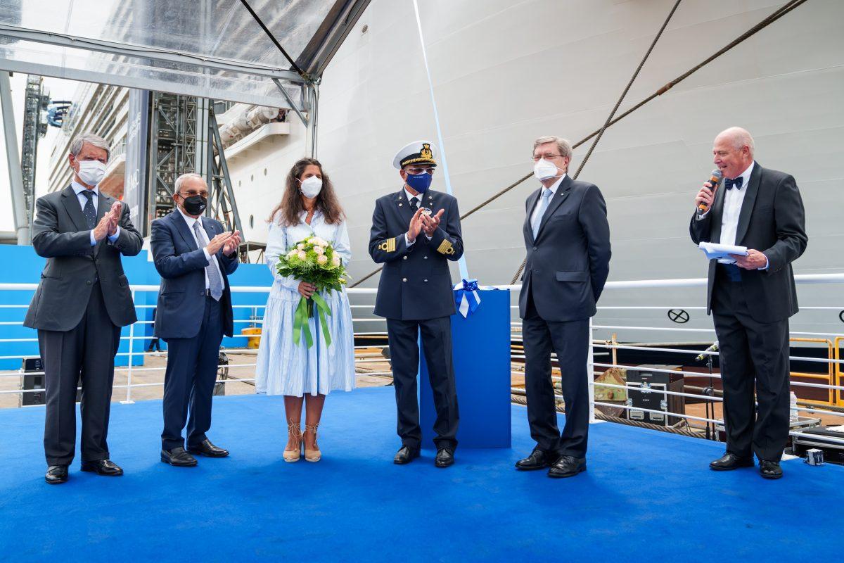 Msc Seashore pronta al debutto nel Mediterraneo