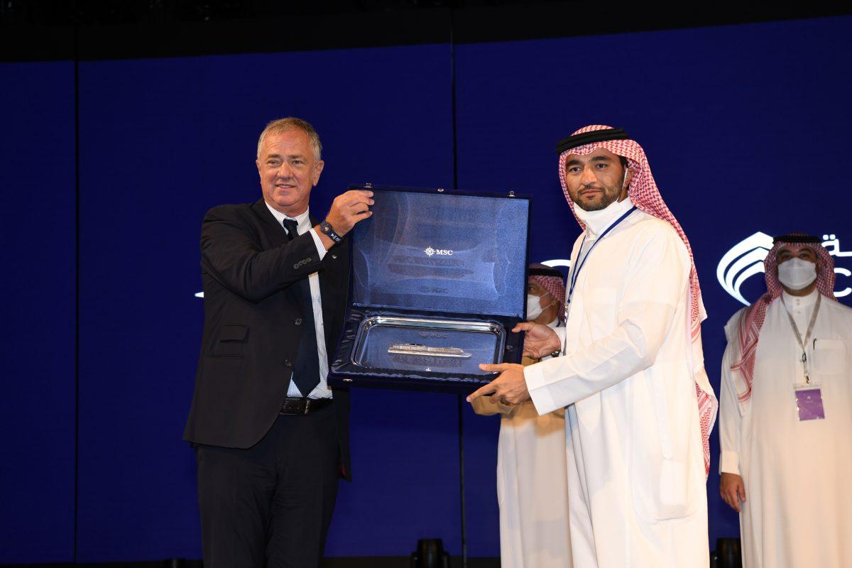 Msc e Cruise Saudi, siglato l'accordo quinquennale