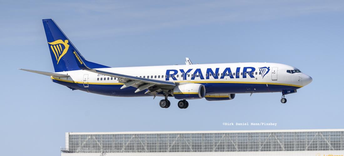Ryanair cresce a Orio con il 737-8200 Gamechanger
