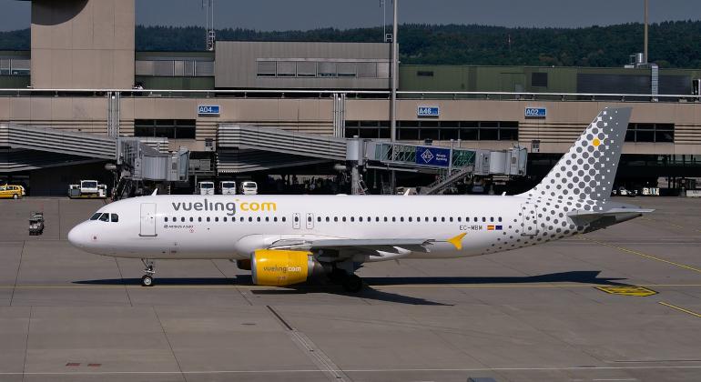 Vueling: 5 aerei basati e 23 collegamenti da Fiumicino
