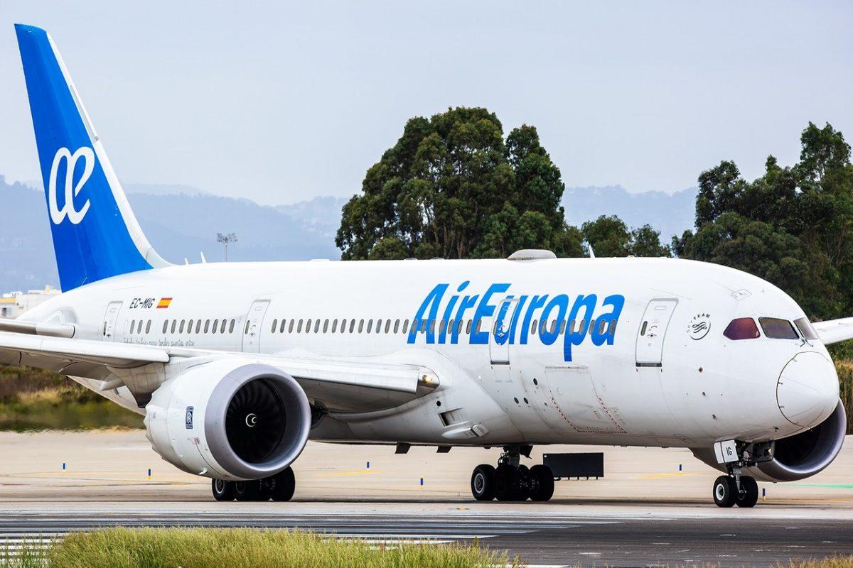 Air Europa, voli giornalieri per Santo Domingo