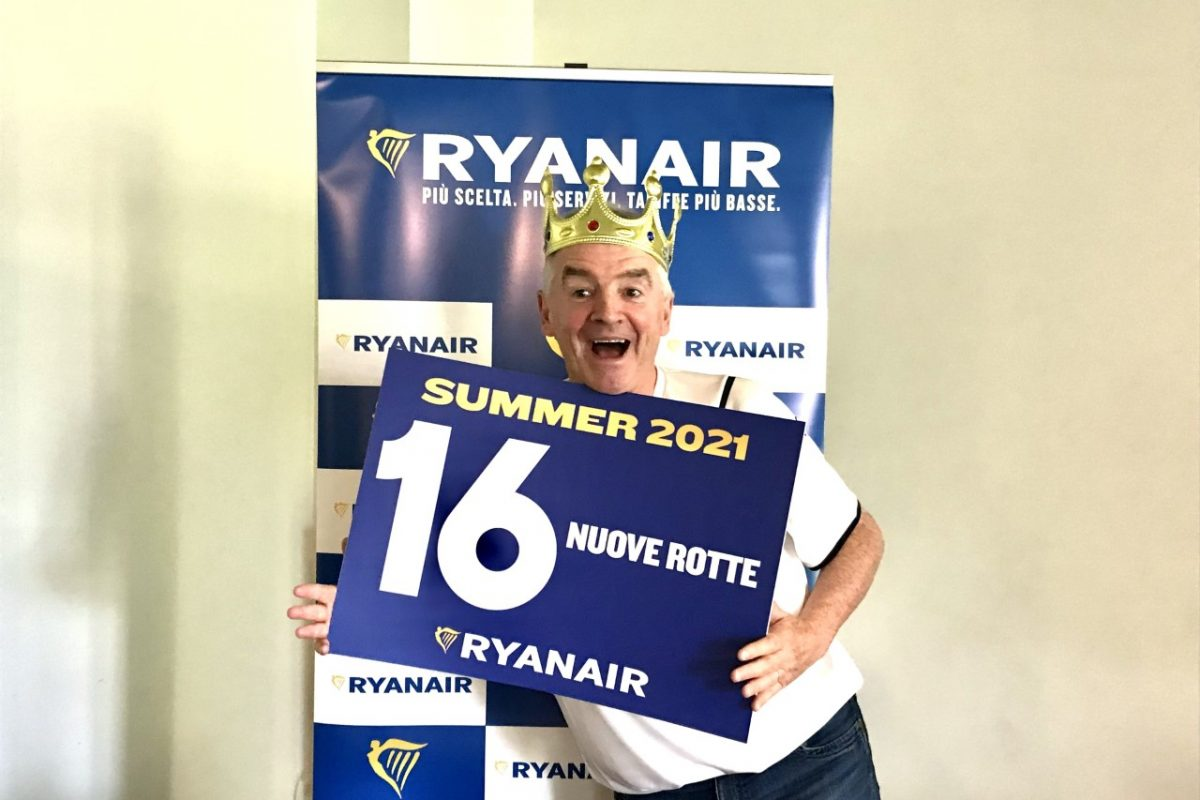 La ripartenza di Ryanair passa da Roma