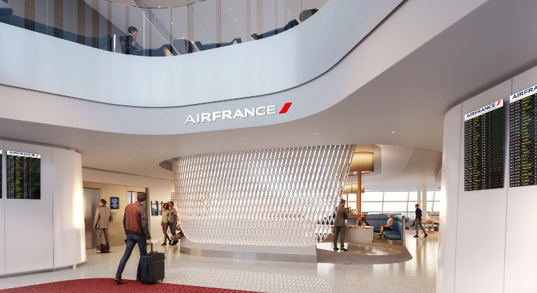 Air France: nuova lounge a Charles de Gaulle